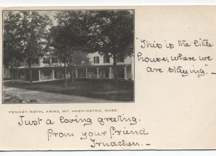 Postcard from the Pennyroyal Arms