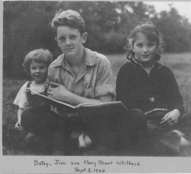 Betsy, Jim and Mary Stuart Whitbeck