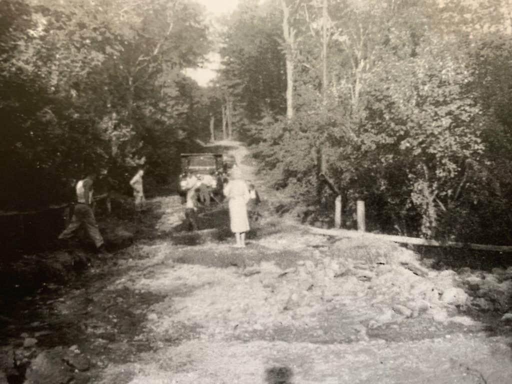 Cross Road Brook After Hurricane Diane