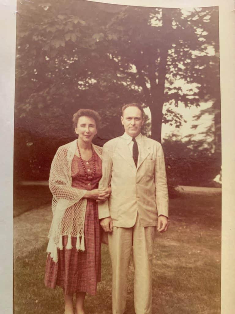 Tom and Adelaide Garrett