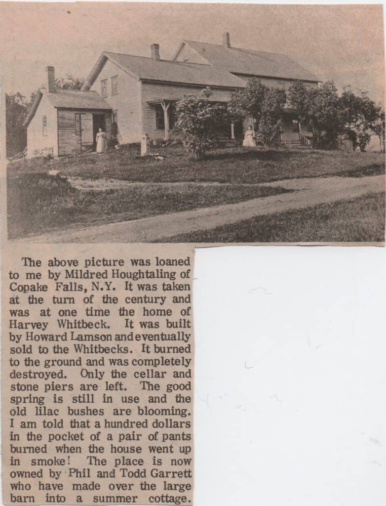 Former Home of Harvey Whitbeck