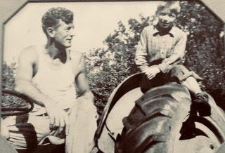 Merv Whitbeck with (young) Harry Garrett