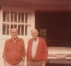 Twins Phil and Tom Garrett