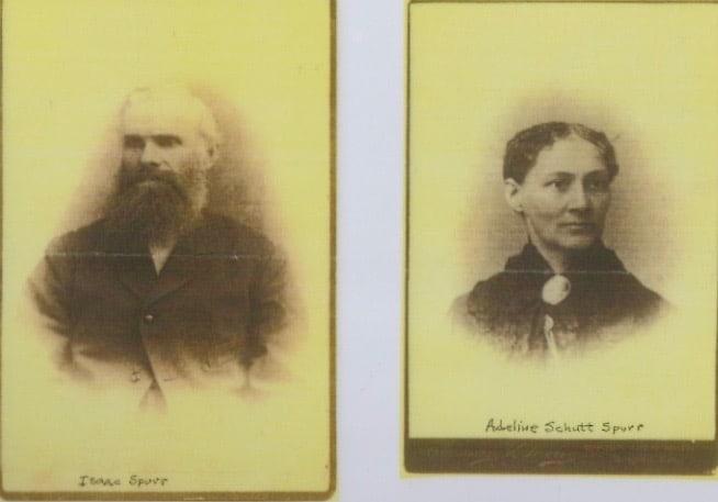 Isaac Spurr & Adeline Schutt Spurr