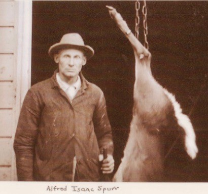 Alfred Isaac Spurr with Deer