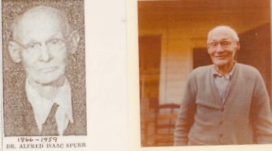 Dr. Alred Isaac Spurr