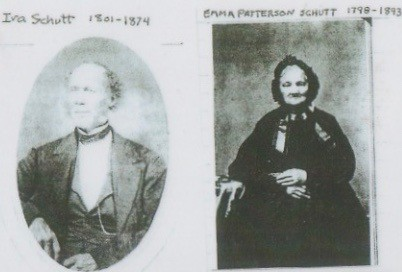 Ira Schutt 1801-1874 & Emma Patterson 1798-1993