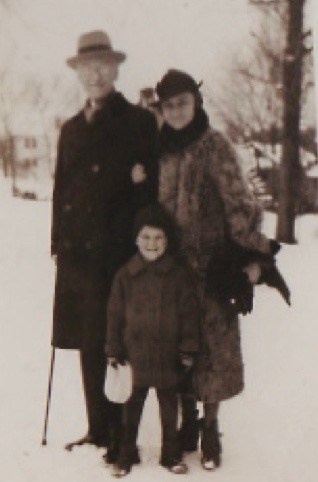 Malcolm, Kay and Dick Spence