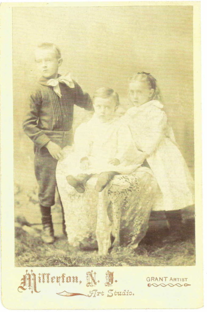 Frank, Roger, and Ella Wolcott
