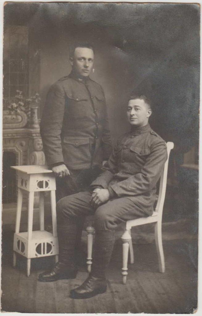 Percy Mervin Weaver (right)
