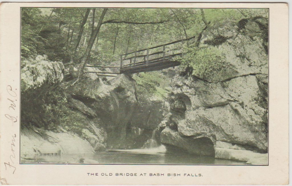 The Old Bridge at Bash Bish Falls