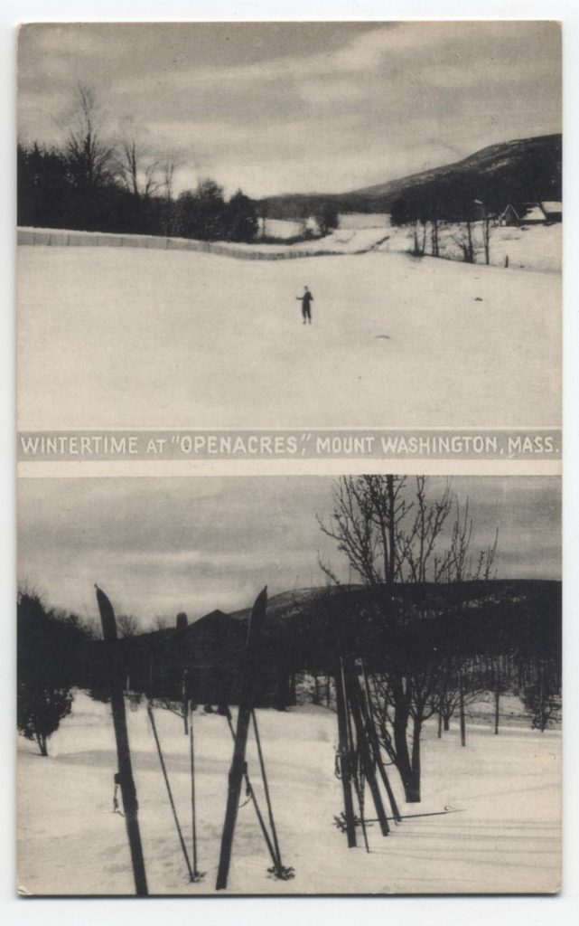 Wintertime at Open Acres