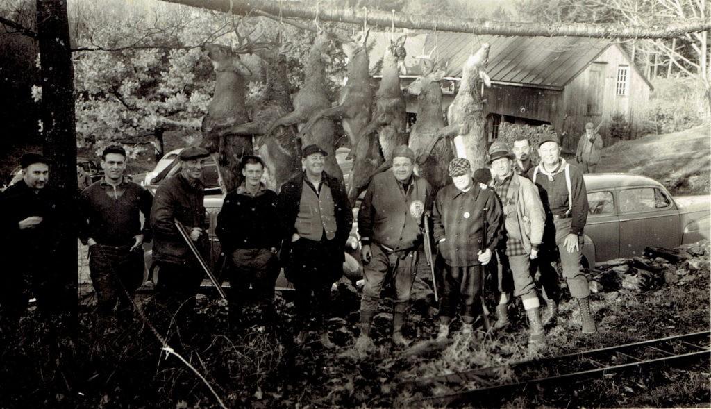 Deer Week at Road's End 1940s