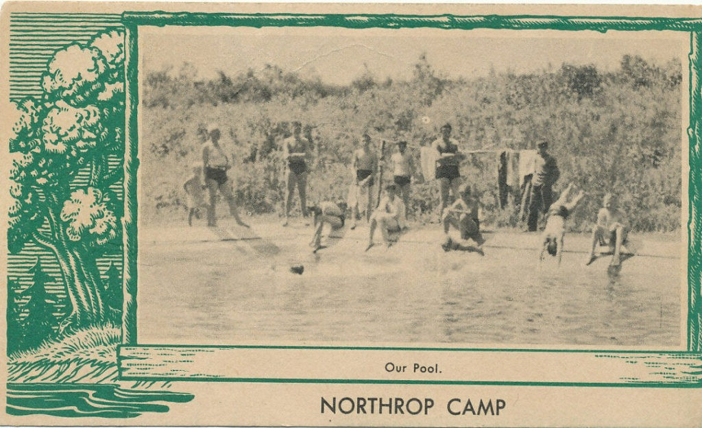 """Northrop Camp """"Our Pool"""""""