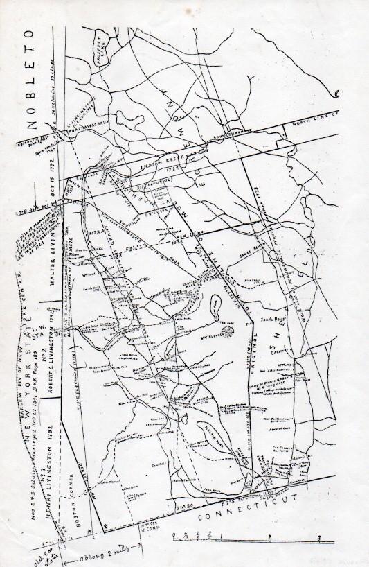 1792 Map of Mount Washington
