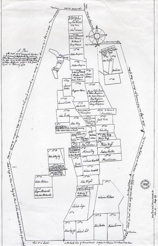1774 Plot Plan Mt. Washington