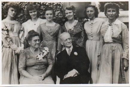 Eleanor and Alfred Cope Garrett's 50th Wedding Anniversary