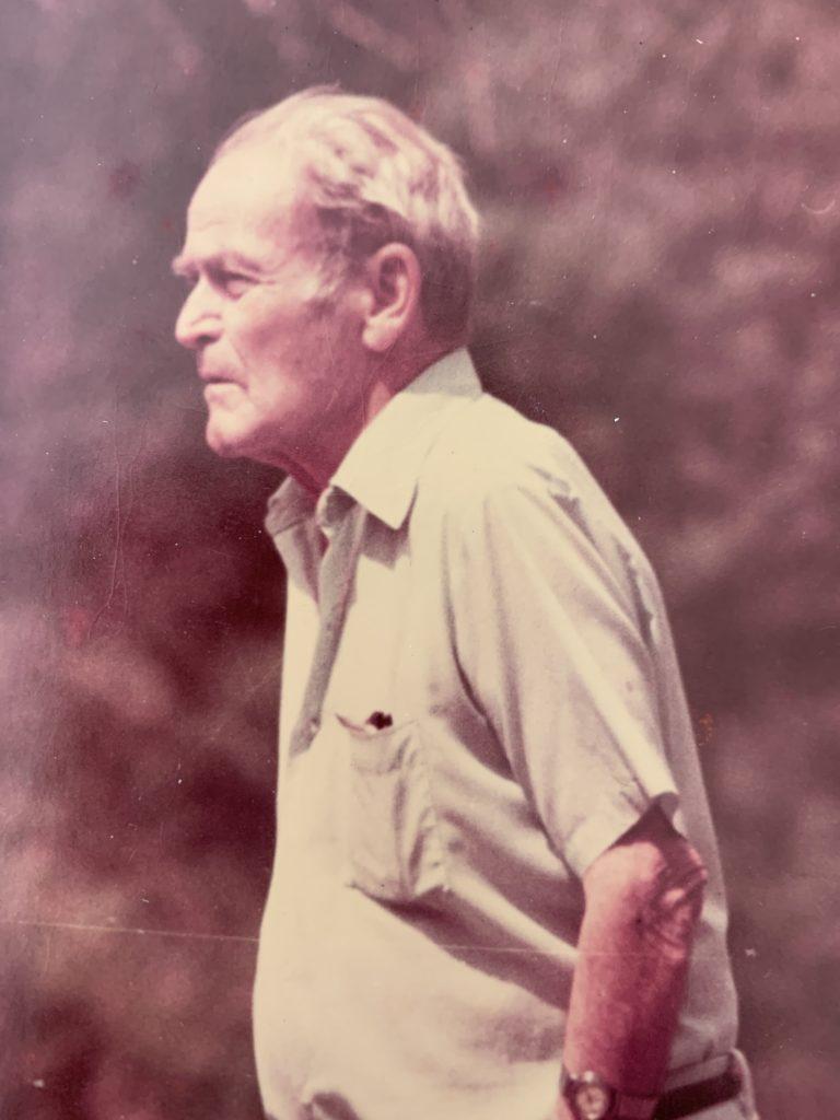 Phil Garrett I at Austin's Ball Field 1980'S