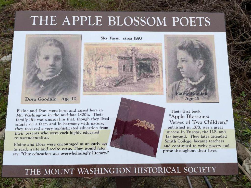 Apple Blossom Poets at Sky Farm